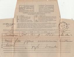 Télégramme De CONSTANTINE Algérie à GAILLAC Tarn 26/6/1942 - Télégraphes Et Téléphones