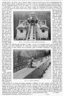 UN CHEMIN DE FER à GRAVITE   1901 - Railway