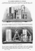 LES CALCIMETRES-ACIDIMETRES De  M . HOUDAILLE    1901 - Technical