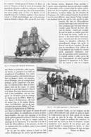 L'ECOLE NAVALE ALLEMANDE  1901 - Boats