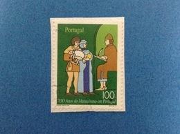 1997 PORTOGALLO PORTUGAL ANOS MUTUALISMO 100 FRANCOBOLLO USATO STAMP USED - Usati