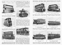 """LA TRACTION MECANIQUE Des TRAMWAYS """"  PARIS Et BANLIEUE """"  1901 - Transportation"""