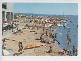 Fos Sur Mer : La Plage (terrasse Bar) Cp Vierge N°790 Tardy - France
