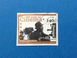 1998 PORTOGALLO PORTUGAL CINEMA ANTONIO LOPES RIBEIRO 140 FRANCOBOLLO USATO STAMP USED - Usati