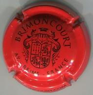 CAPSULE-CHAMPAGNE BRIMONCOURT N°03 Rouge & Noir Insc. Sur Contour - Other