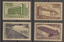 Portugal 1952 - Série Completa Centenário Ministério Obras Publicas Afinsa 755 A 758 - Set Complete - Mint MNH**/ Neuf - 1910-... Republic