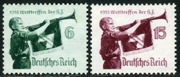 Germany. Sc #463-464. Mint. ** - Ungebraucht