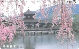 MONUMENT - TEMPLE - PAYSAGE - CHATEAU - CULTE - Télécarte Japon - Landschappen