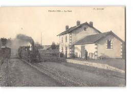 CPA 71 Tramayes La Gare Et Le Train Tramway Ligne De Monsols - Cluny - France