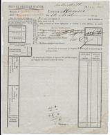 1813 - FEUILLE D'AVIS RARE Du Bau Gal P.P GRANDE ARMEE (ALLEMAGNE) à HALBERSTADT - ENVOIS à HANOVRE - Postmark Collection (Covers)