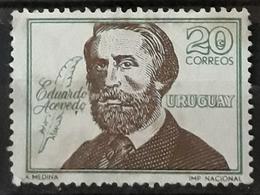URUGUAY 1967 Eduardo Acevedo Commemoration. USADO - USED. - Uruguay