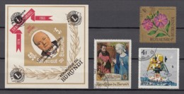 Burundi - 1 Unused Stamps And 3 Used Stamps From The Years 1966-1968 - See Scan - Burundi