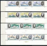 SOWJETUNION - Mi.Nr. 4906 -4911 Postfrisch - 3erStreifen - Unused Stamps