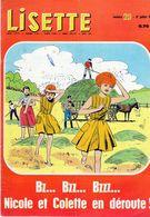 Magazine Lisette N°29 Le 17 Juillet 1966 Bz...Bz...Bz...Nicole Et Colette En Déroute - Lisette