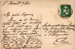 Saint Amand Montrond Sous-bois à Montrond  Belle Carte Postée 9/5/1926 Timbre Pasteur - Saint-Amand-Montrond
