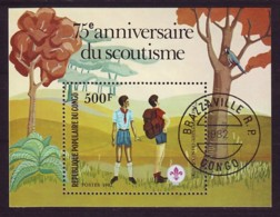 Kongo Congo (Brazzaville) 1982 - MiNr. Block 29 O Used - Pfadfinder - Kongo - Brazzaville