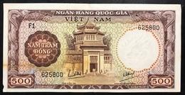 SOUTH VIETNAM 500 DONG 1964 Lievi Mancanze  Lotto 2628 - Vietnam