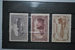 Turquie 1920 Y&T 623-624-625 MH - Neufs