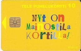 FINLAND -   NYT ON MAINOSSTILA KORTILLA - 7000ex - Finland