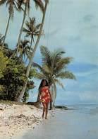 PIE.T.19-6919 : VAHINE PUROTU.  POLYNESIAN BEAUTY - Tahiti