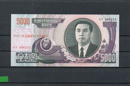 COREA DEL NORTE 2007, 5000 WON. P-56A, SC-UNC,  2 ESCANER - Corea Del Nord