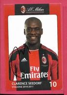 Milan - Seedorf - Non Viaggiata - Fussball
