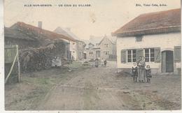 Alle-sur-Semois - Un Coin Du Village - Animé - Carte Colorisée - Edit. Victor Caën, Arlon - Vresse-sur-Semois