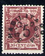 Fernando Po Nº 72. Año 1900 - Fernando Po