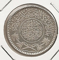 Arabie Saoudite Saudi Arabia 1/2 Riyal AH1354 1935  Km 17 SILVER ARGENT PLATA RARE 104 UNC???? - Arabia Saudita
