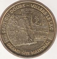 MONNAIE DE PARIS 25 VILLERS-LE-LAC Le Saut Du Doubs - Le Blason -  2011 - Monnaie De Paris