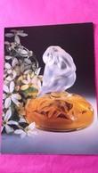 LALIQUE   FLACON COLLECTION 1996 - Perfume Cards