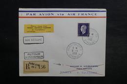 FRANCE - Enveloppe 1 Er Vol France / Nouvelle Calédonie En 1953 - L 33060 - Marcophilie (Lettres)