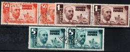 Sahara Español Nº 88/90. Año 1951 - Sahara Spagnolo