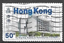 1985 50 Cents Performing Arts Used - Hong Kong (...-1997)