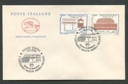 FDC ITALIA 2008 - CAVALLINO - ANNIVERSARIO NASCITA ANDREA PALLADIO - 697 - 6. 1946-.. Repubblica