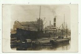 Antwerpen1914 - Schip Cantoise- Fotokaart  ( 2 Scans) - Antwerpen