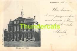 CPA ROESELARE ROESELAERE ROULERS HOTEL DE VILLE - Roeselare
