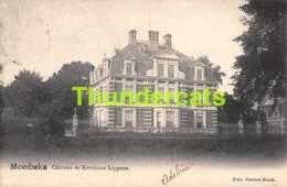 CPA MOERBEKE WAES WAAS CHATEAU DE MR KERCHOVE LIPPENS - Moerbeke-Waas