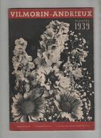 Vilmorin Andrieux Plantes 1939 Catalogue Paris - Garden