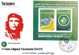 DZ Algérie 1687 FDC Che Guevara CUBA Célébrités Révolution Cubaine Leaders Des Pays Non Alignés - Argelia (1962-...)