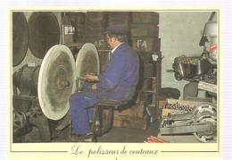Artisanat Les Métiers D'antan Le Polisseur De Couteaux - Artisanat