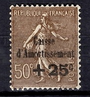 France Caisse D'Amortissement YT N° 267 Neuf ** MNH. Gomme D'origine.  TB. A Saisir! - Frankreich