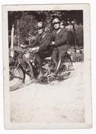 """MOTOCICLETTA  - """" MOTO GUZZI """" -  POLIZIA - MOTORCYCLE -  FOTO ORIGINALE - Automobili"""