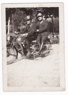 "MOTOCICLETTA  - "" MOTO GUZZI "" -  POLIZIA - MOTORCYCLE -  FOTO ORIGINALE - Automobiles"