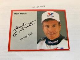Mark Martin Card - Phonecards