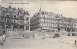 HEIST / ZEEDIJK / GRAND  HOTEL DES BAINS  1908 - Heist
