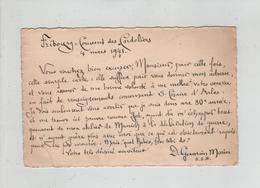 Lettre Fribourg Couvent Des Cordeliers 1941 Germain Morin OSB  Munich Césaire D'Arles Tissot Professeur Lycée Annecy - Vieux Papiers