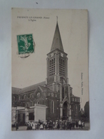 FRESNOY -LE-GRAND : L'église - Frankrijk