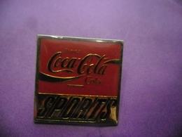 Pin's COCA COLA COKE SPORTS @ PINS 25 Mm X 25 Mm - Coca-Cola
