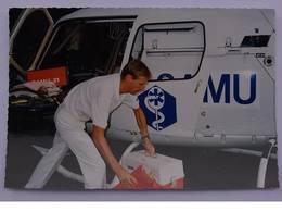 CPSM - TART L' ABBAYE - Intervention Du SAMU 21 1989 - Helikopters